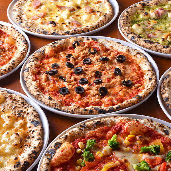 all-you-can-eat pizzas