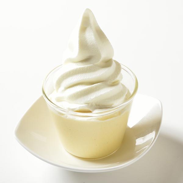 札幌たまごぷりんソフトクリーム