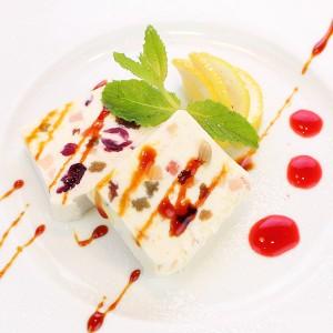IMG_7843北海道産クリームチーズを使ったカッサータ-レモン風味web